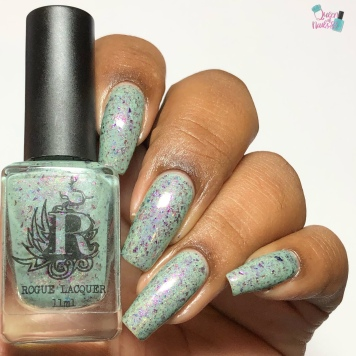 Rogue Lacquer - On A Whim - w/ glossy tc