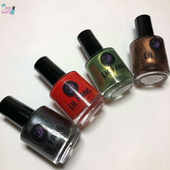 Moore Swatches: Lil Fang Lacquer – Christmas 2018 Collection