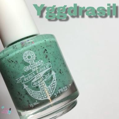 Anchor & Heart Lacquer - Yggdrasil
