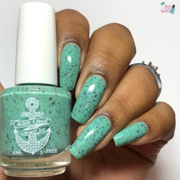 Anchor & Heart Lacquer - Yggdrasil - w/ glossy tc