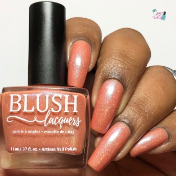 Blush Lacquers - Birth of Venus - w/ glossy tc