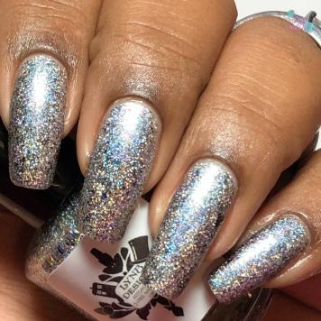 I Glitter Therefore I Glam - w/ matte tc
