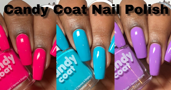 Moore Swatches: Candy Coat Nail Polish