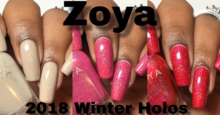 Moore Swatches: Zoya – 2018 Winter Holos