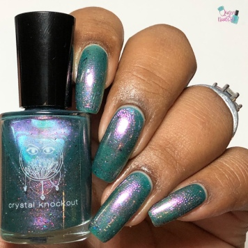 Crystal Knockout - Fifolets of the Bayou - w/ glossy tc