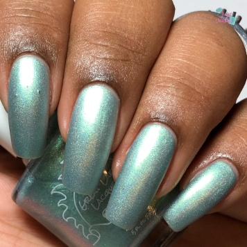 Great Lakes Lacquer - Bayou Princess - w/ matte tc