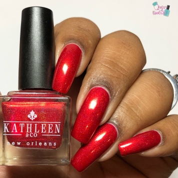 Kathleen & Co. - Light My Flambeaux (M) - w/ glossy tc