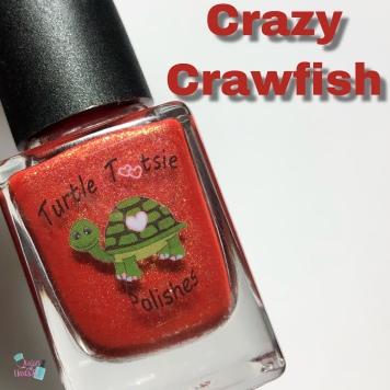 Turtle Tootsie Polish - Crazy Crawfish