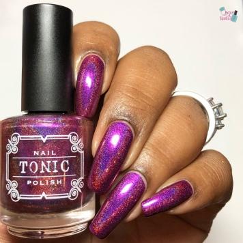 Tonic Polish - Laissez Les Bon Temps Rouler - w/ glossy tc