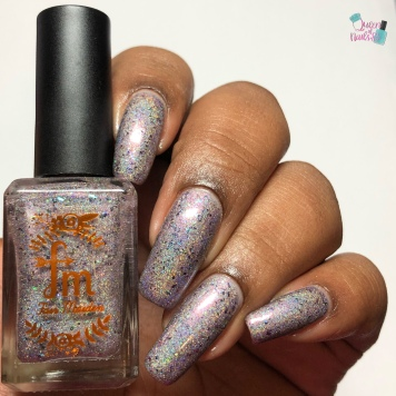 Fair Maiden Polish - French Quarter Phantom - w/ glossy tc