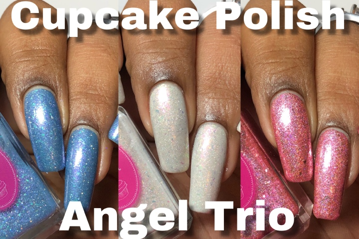 Moore Swatches: Cupcake Polish – Angel Trio