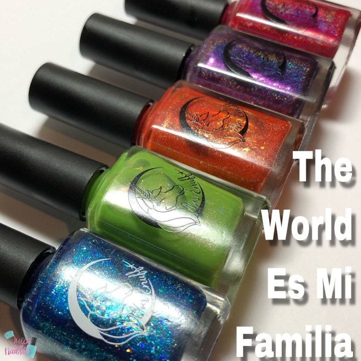 Forget Me Not: Nvr Enuff Polish – The World Es Mi Familia Collection
