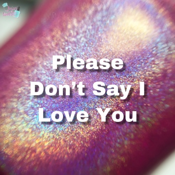 Please Don't Say I Love You