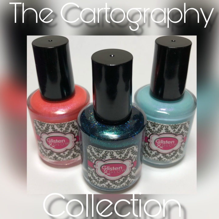 Moore Swatches: Glisten & Glow – The Cartography Collection