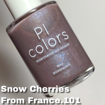 Pi Colors - Snow Cherries From France.101