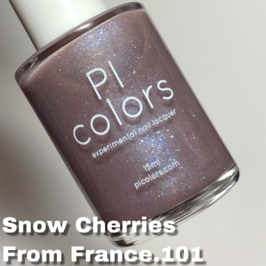 Pi Colors- Snow Cherries From France.101