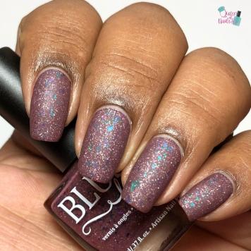Blush Lacquers - Iris - w/ matte tc
