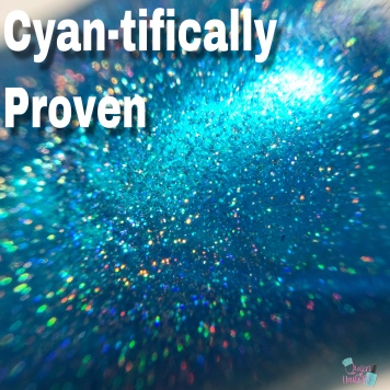 Cyan-tifically Proven