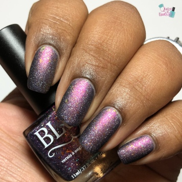 Blush Lacquers - The (Night) Life Of The Party - w/ matte tc