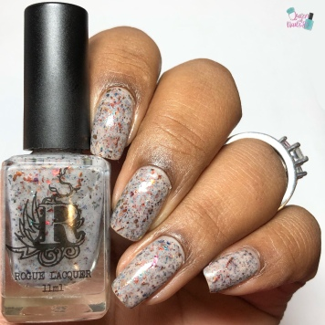 Rogue Lacquer- On the Border - w/ glossy tc