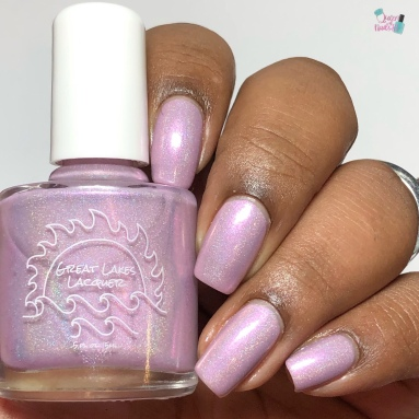Great Lakes Lacquer- Billions of Beautiful Hearts - w/ glossy tc
