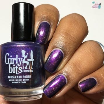Girly Bits Cosmetics - Bourbon Street Stroll (M) - w/ glossy tc