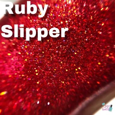 Poetry Cowgirl Polish - Ruby Slipper
