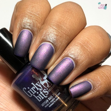 Girly Bits Cosmetics - Bourbon Street Stroll (M) - w/ matte tc
