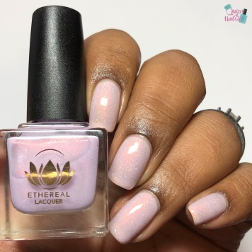 Ethereal Lacquer - La Lavande Bayou - w/ glossy tc