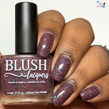 Blush Lacquers - Iris - w/ glossy tc
