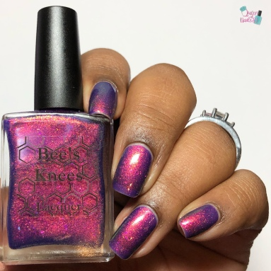 Bee's Knees Lacquer - Play Something Axeman - w/ glossy tc