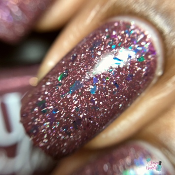 Blush Lacquers - Iris - macro