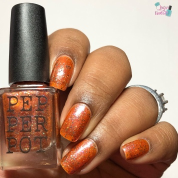 Pepper Pot Polish - Roux'd Awakening - w/ glossy tc
