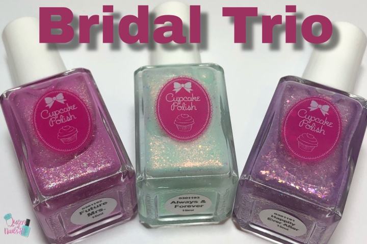 Moore Swatches: Cupcake Polish – Bridal Trio