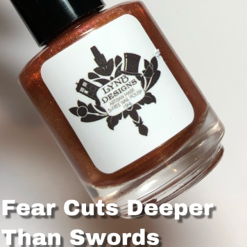 Fear Cuts Deeper than Swords